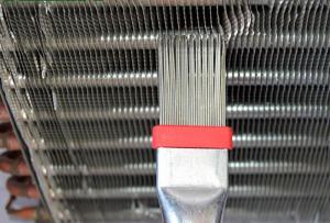 Гребенка для очистки и выравнивания рёбер радиатора CT-352